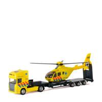 Polesie  vrachtwagen met helikopter - ambulance