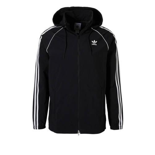 adidas-Zomerjas Superstar Windbreaker in zwart
