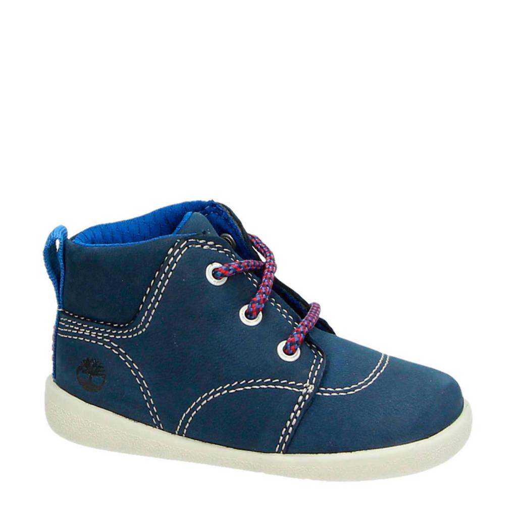 Timberland  nubuck sneakers blauw, Blauw