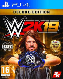 WWE 2K19 (Deluxe edition) (PlayStation 4)