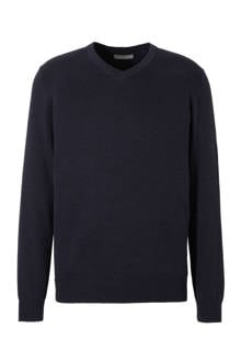 Angelo Litrico trui donkerblauw