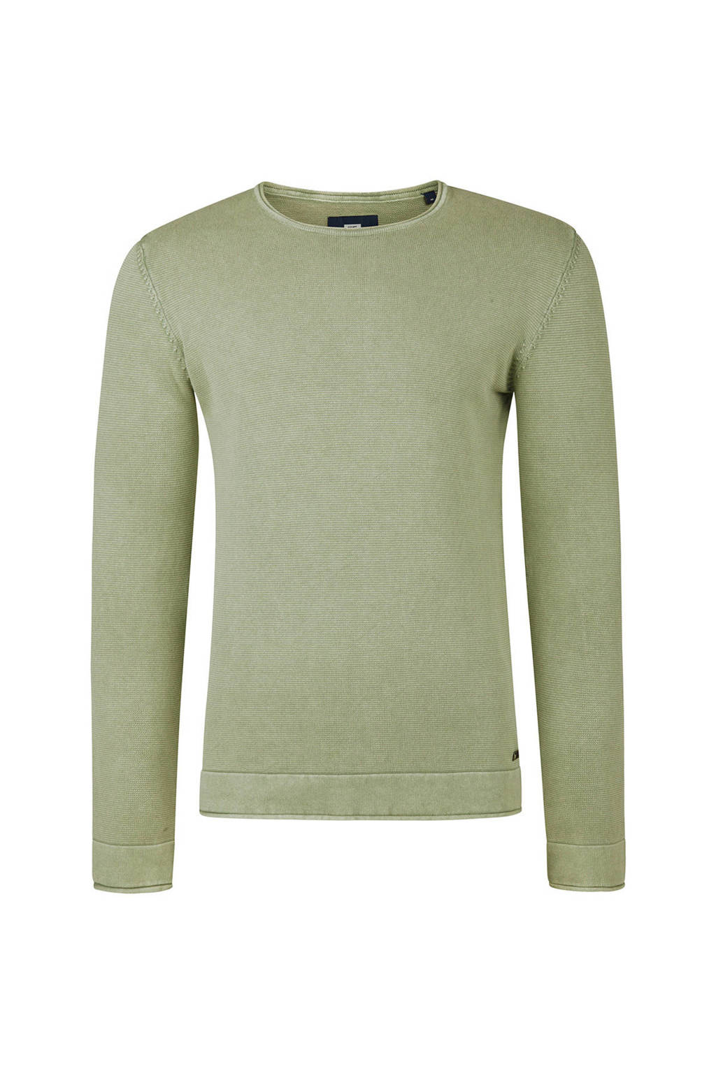 WE Fashion relaxed fit trui lichtgroen, Lichtgroen