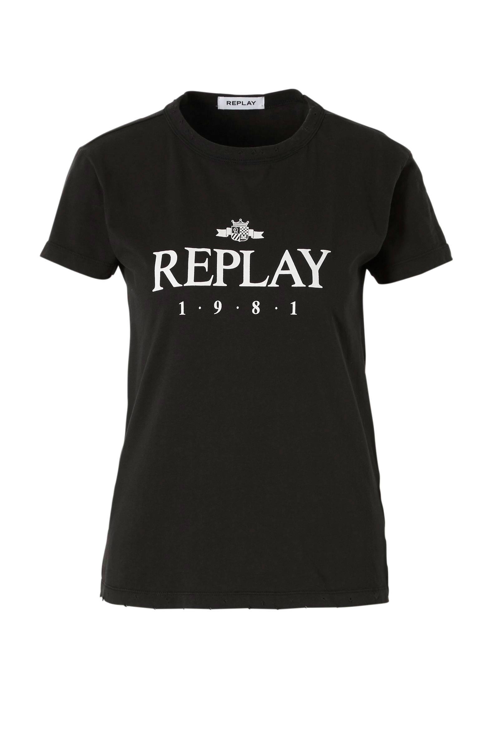 dames shirt met tekst
