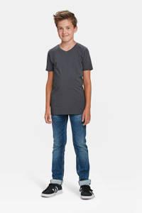 WE Fashion regular fit T-shirt, Grijs