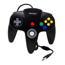 Nintendo 64 USB controller zwart