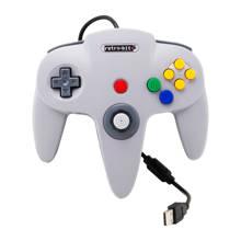 Nintendo 64 USB controller grijs