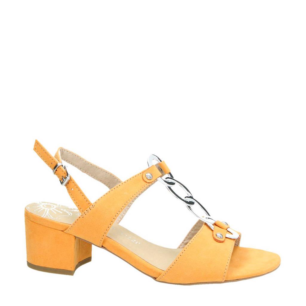 Marco Tozzi sandalettes geel, Geel
