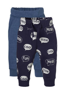 Baby Club sweatpants blauw (set van 2)