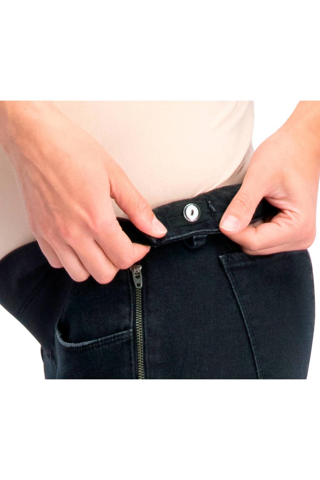 Supermom flared jeans, Zwart