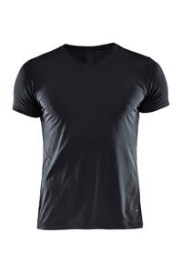 Craft   baselayer sport T-shirt zwart, Zwart