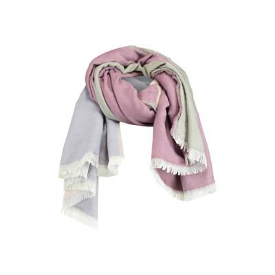 America Today sjaal Adaisy roze/blauw