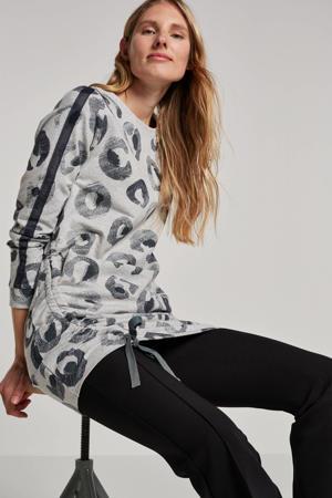 sweater met all over print