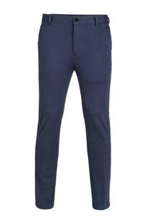WE Fashion loose fit pantalon blauw (heren)