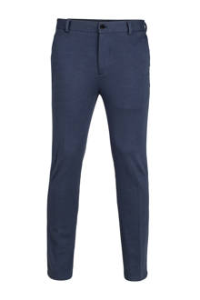 loose fit pantalon blauw