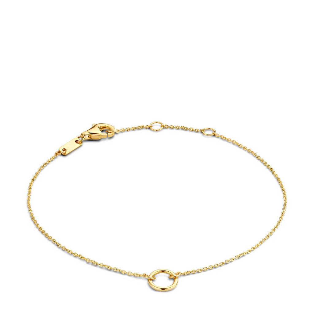 Isabel Bernard 14 karaat gouden armband - IB2001111, Goudkleurig