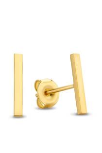 Isabel Bernard gouden oorstekers IB0101101