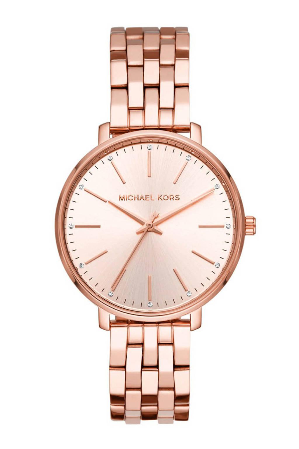 Michael Kors horloge - MK3897, Roségoudkleurig