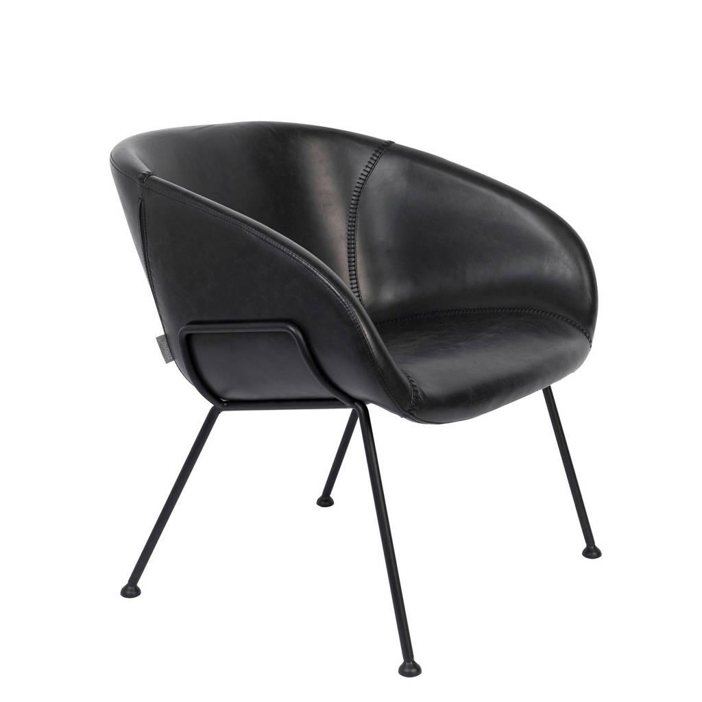 Zuiver fauteuil Feston, Zwart