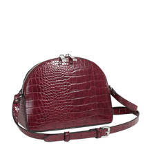 crossbody tas bordeaux