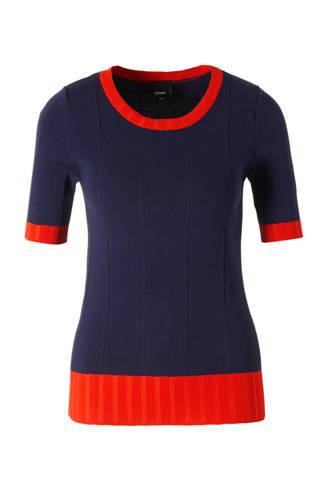 fijnbrei trui met brede rib
