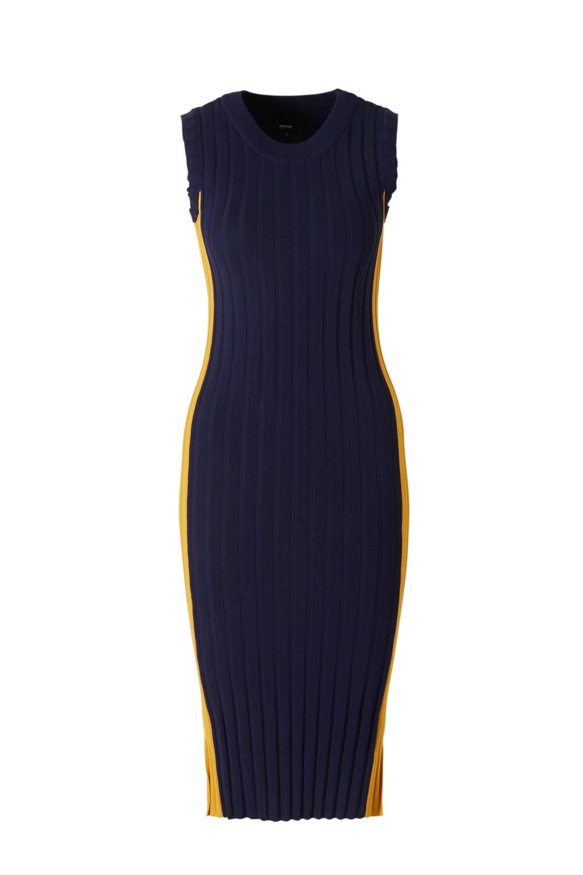 7e6cc32942832e whkmp s own fijnbrei jurk in rib
