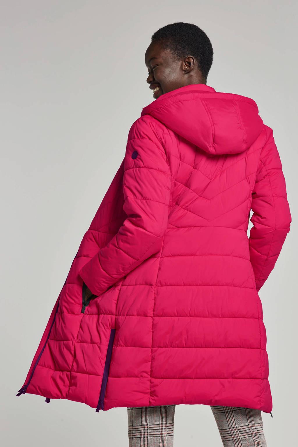 Miss Etam Regulier winterjas rood, Rood