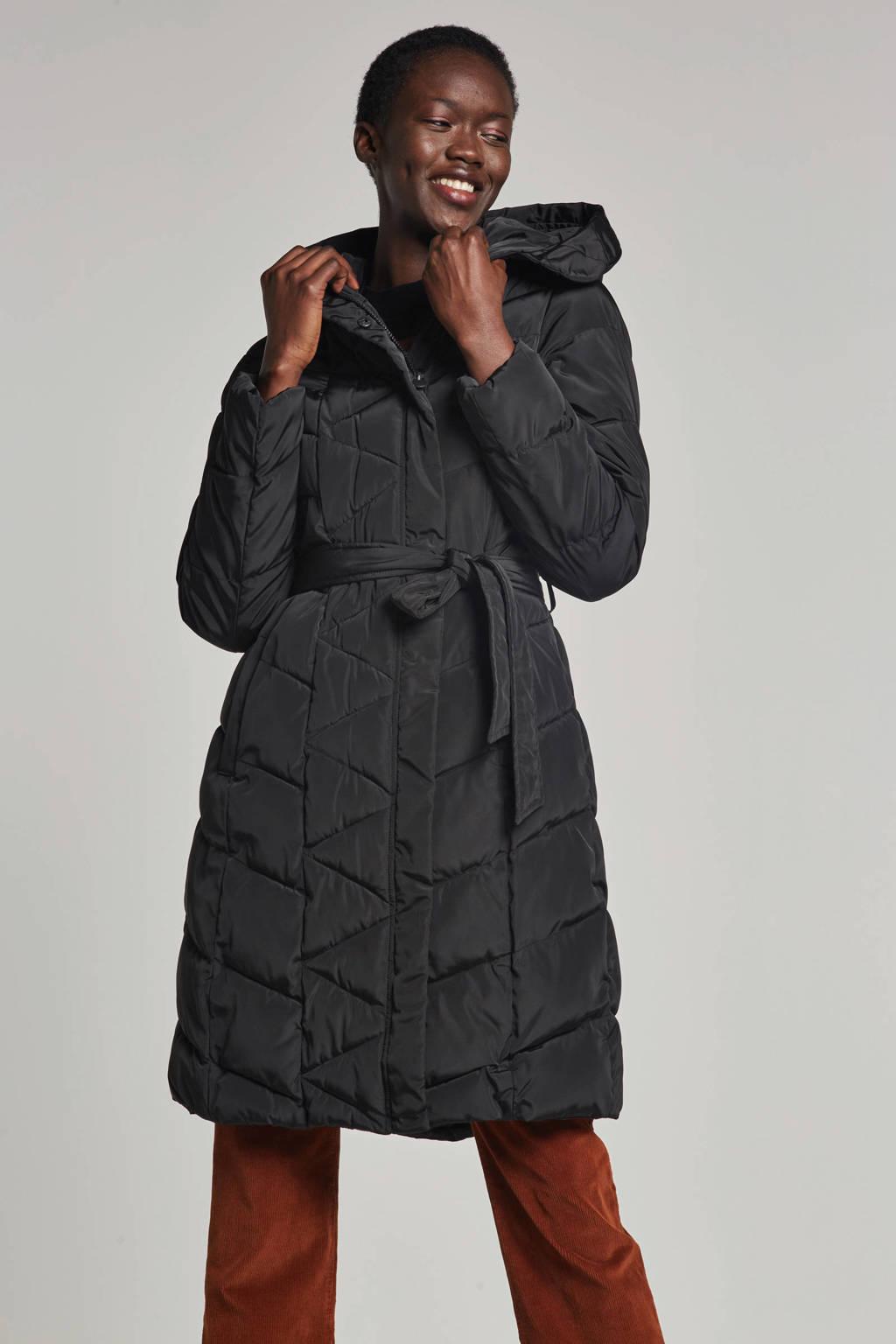 Miss Etam Regulier jas zwart, Zwart