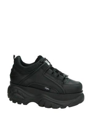 leren Chunky Dad sneakers zwart