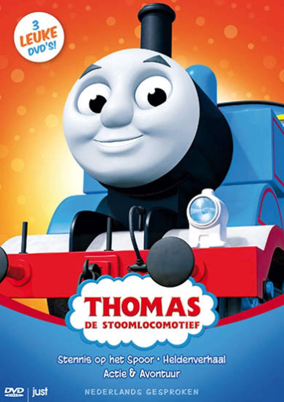 Thomas de stoomlocomotief box (DVD)