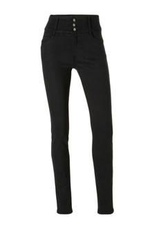 Yessica skinny fit broek zwart