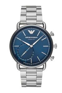 Emporio Armani Connected hybrid watch - ART3028, Zilverkleurig