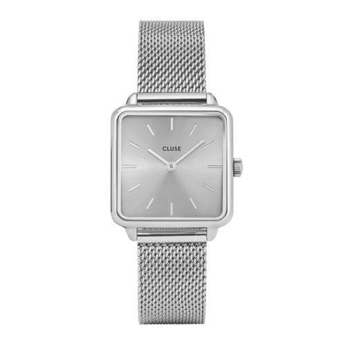 CLUSE La Garconne mesh zilverkleurig dames horloge CL60012 kopen