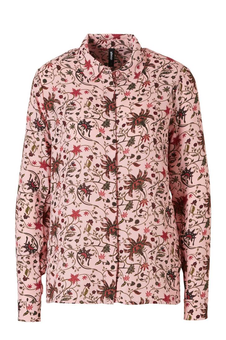 pink blouse met Eksept blouse met bloemenprint pink Eksept Eksept pink bloemenprint USqf0w6