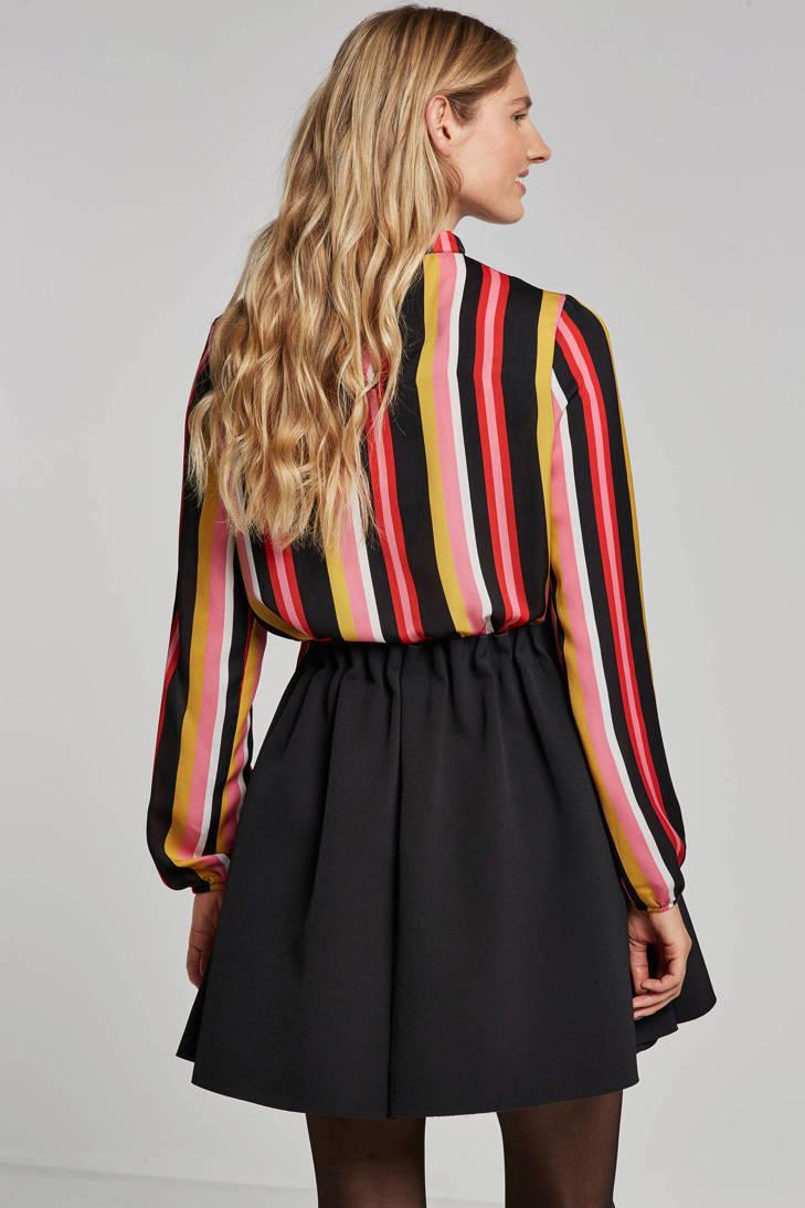 Eksept Bow streepdessin blouse Lindy met 6651nSq