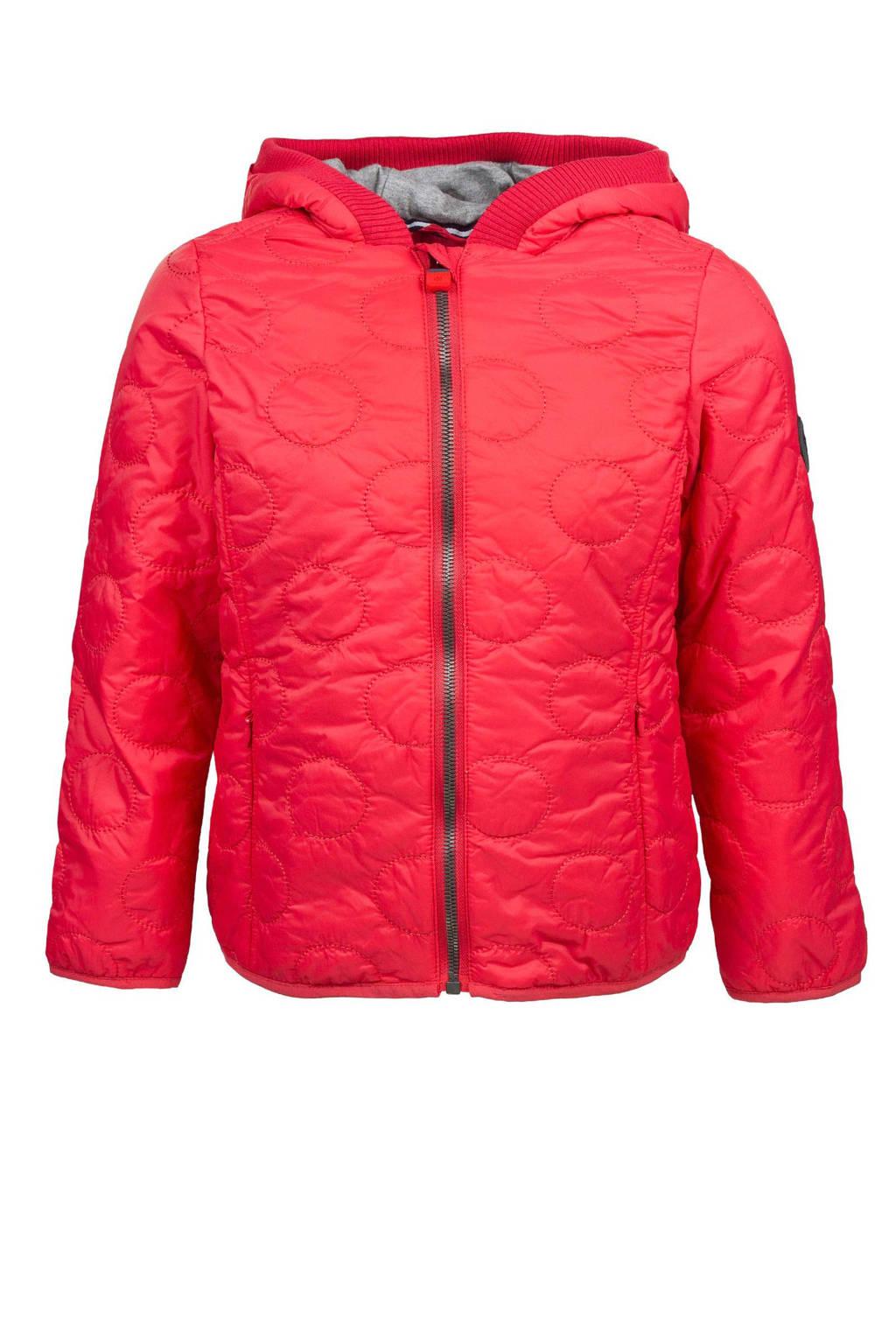 Marc O'Polo jas met gestikte rondjes roze, Roze