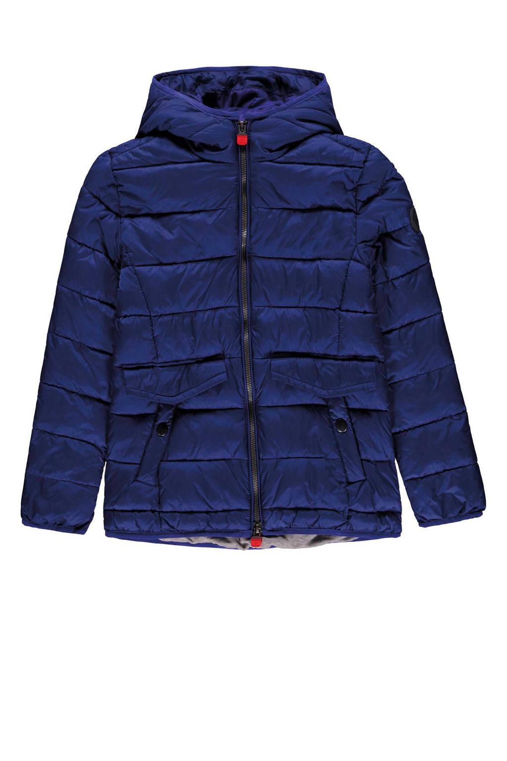 Marc O'Polo jas met stiksels blauw, Blauw