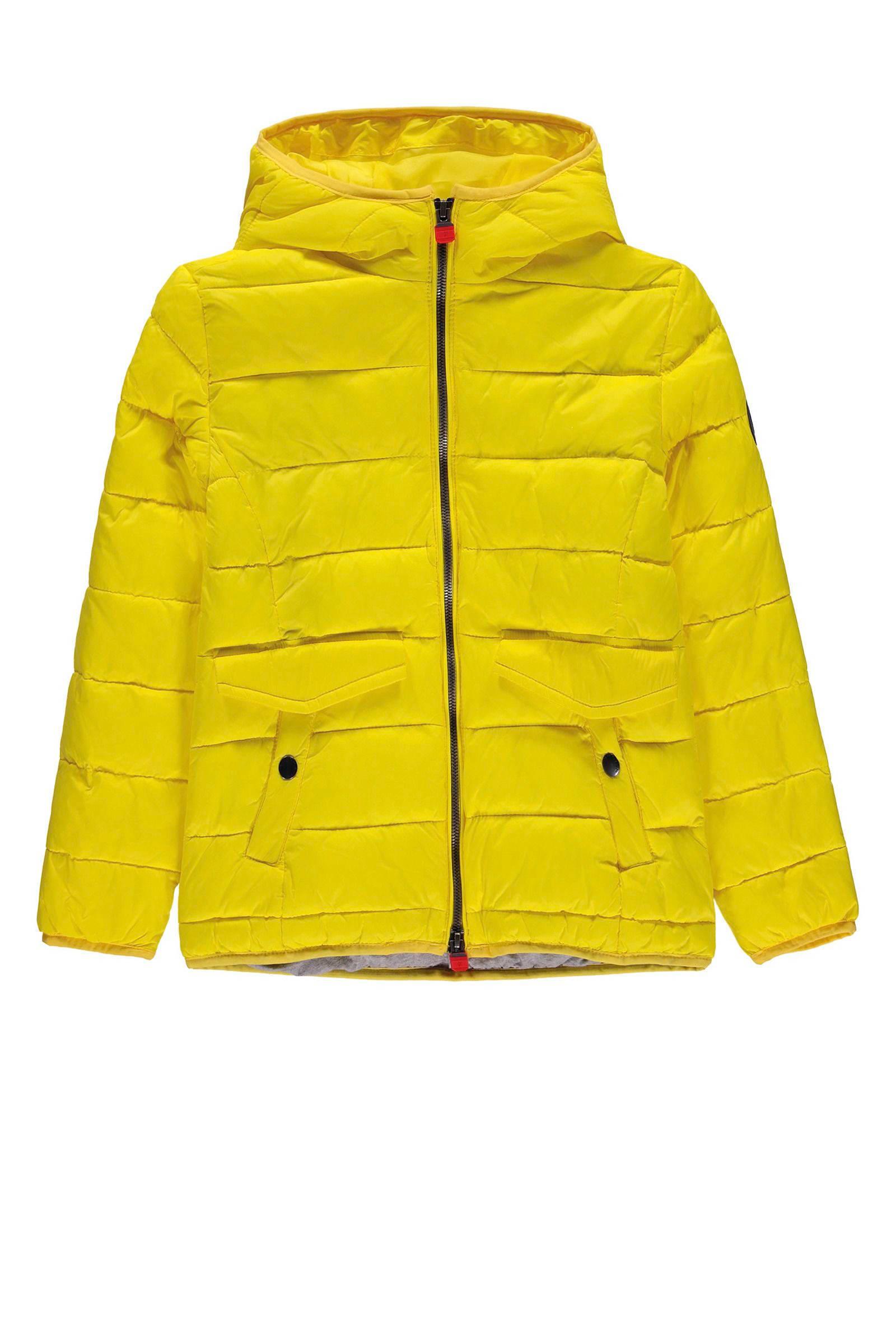 Marc O'Polo jas met stiksels geel