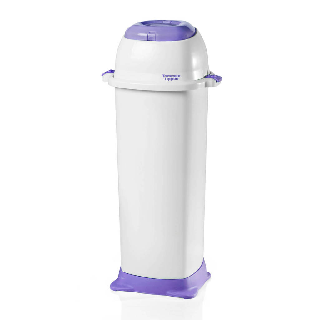 Tommee Tippee Sangenic luieremmer Nappy Wrapper maxi, Wit/paars