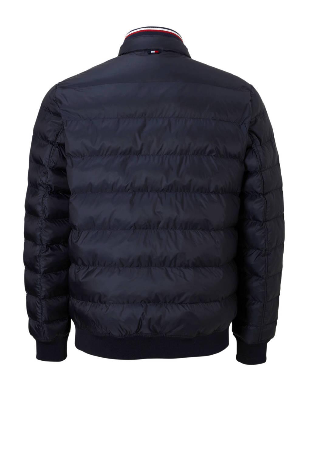 Tommy Hilfiger Big & Tall +size jas, Donkerblauw