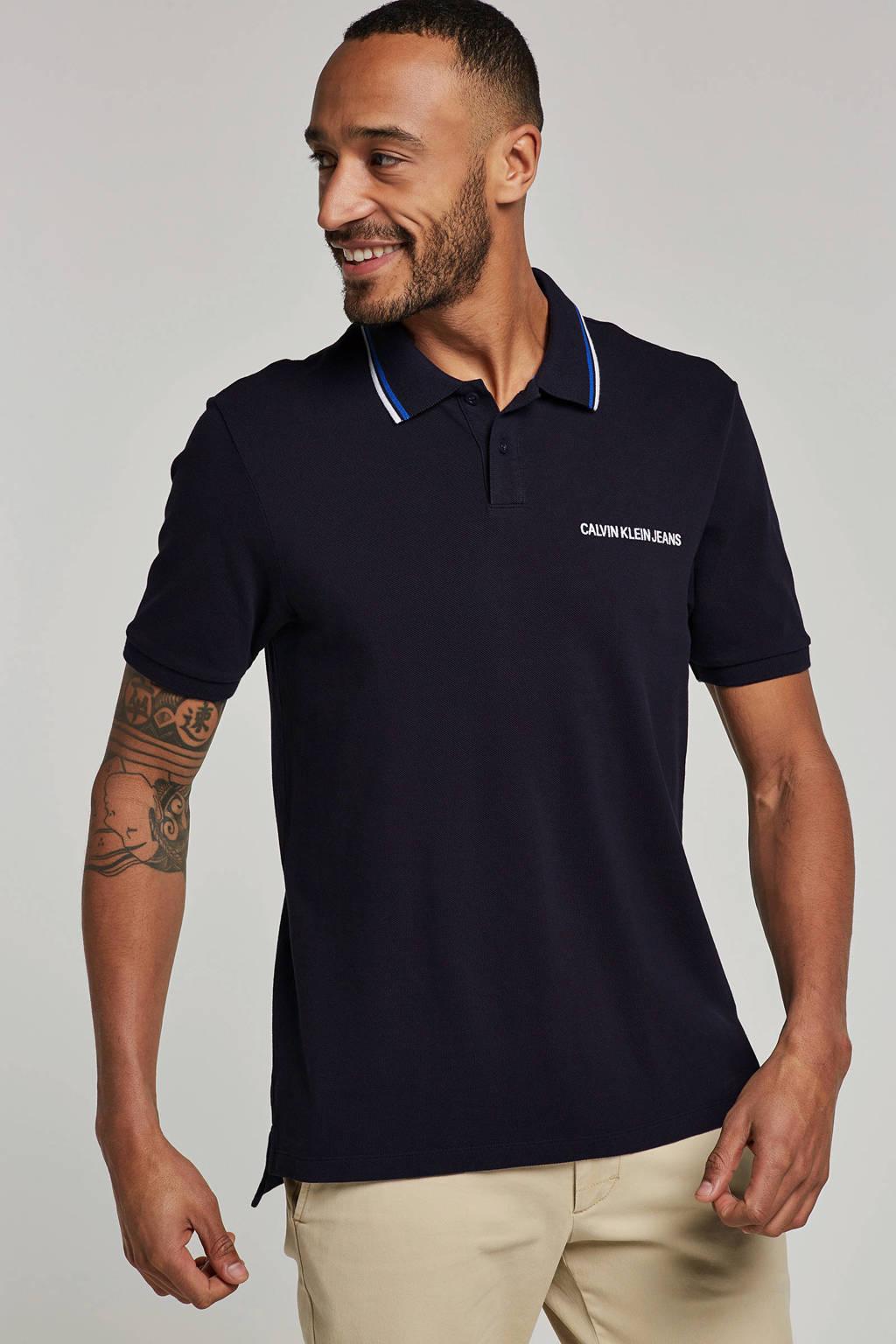 Calvin Klein Jeans polo, Donkerblauw