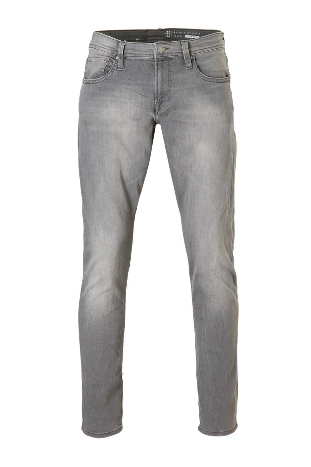 edc Men  slim jeans slim fit grijs, Grijs