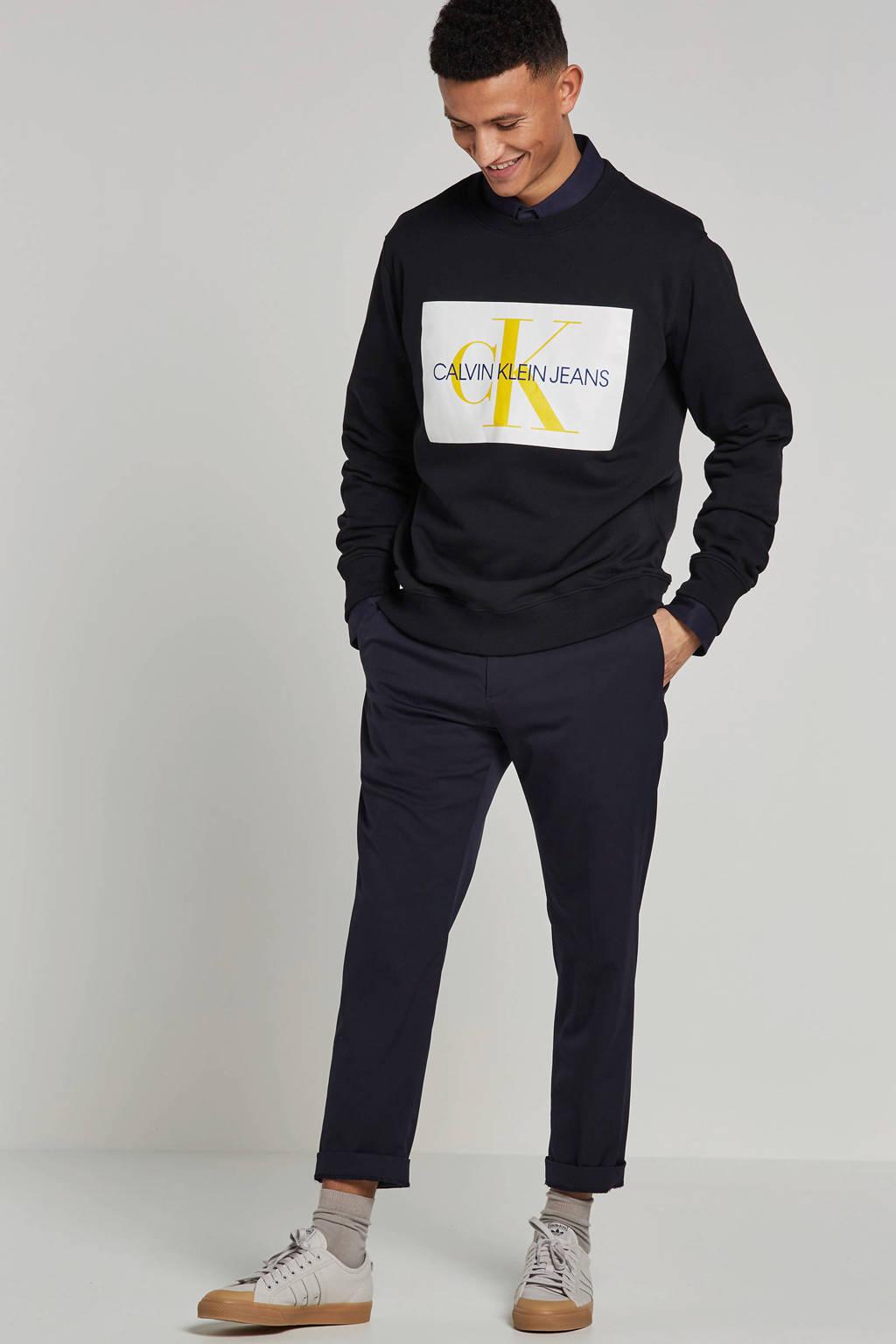 Calvin Klein Jeans sweater, Zwart