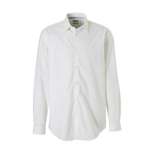 ESPRIT Men Collection slim fit overhemd wit