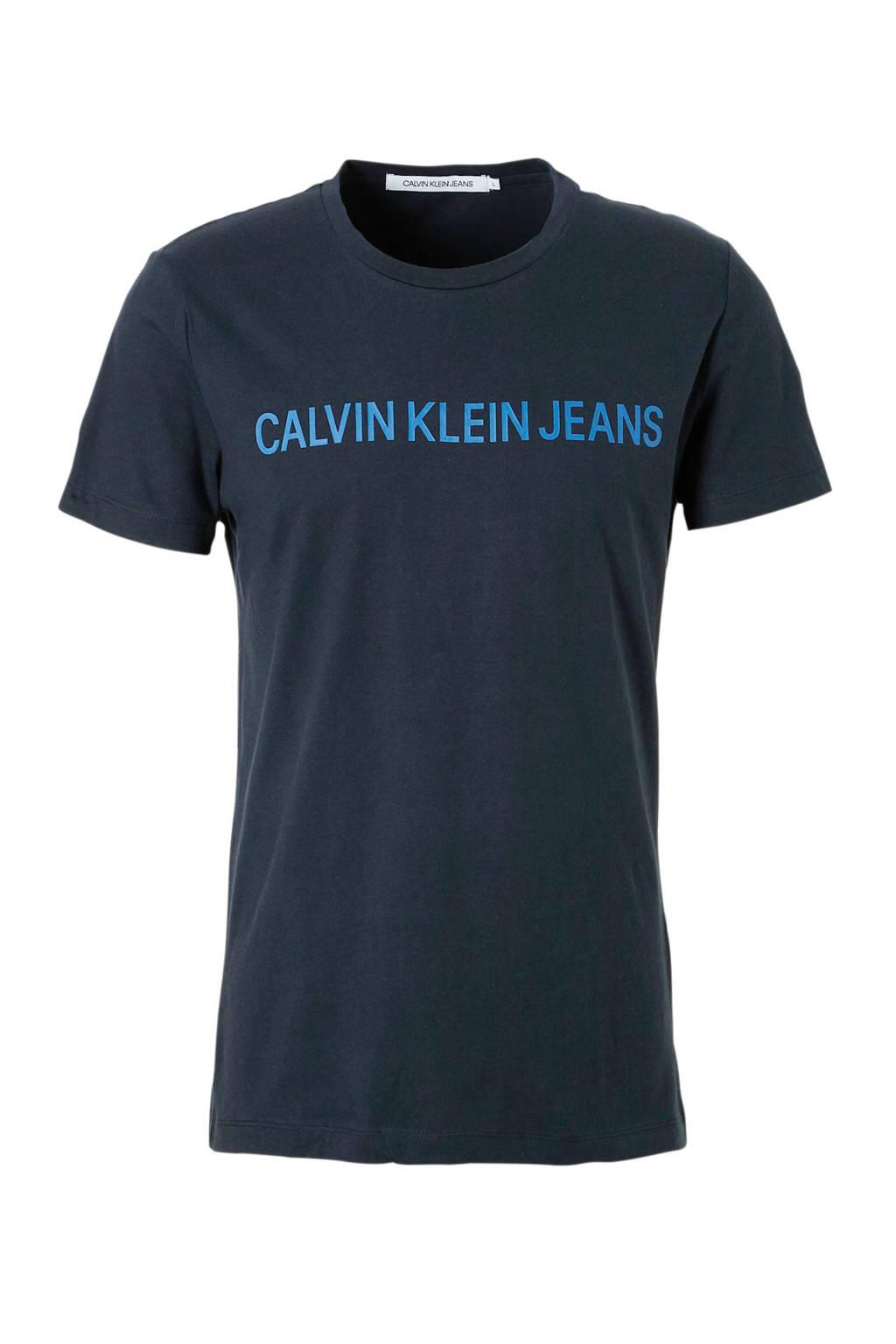 Calvin Klein Jeans T-shirt, Donkerblauw