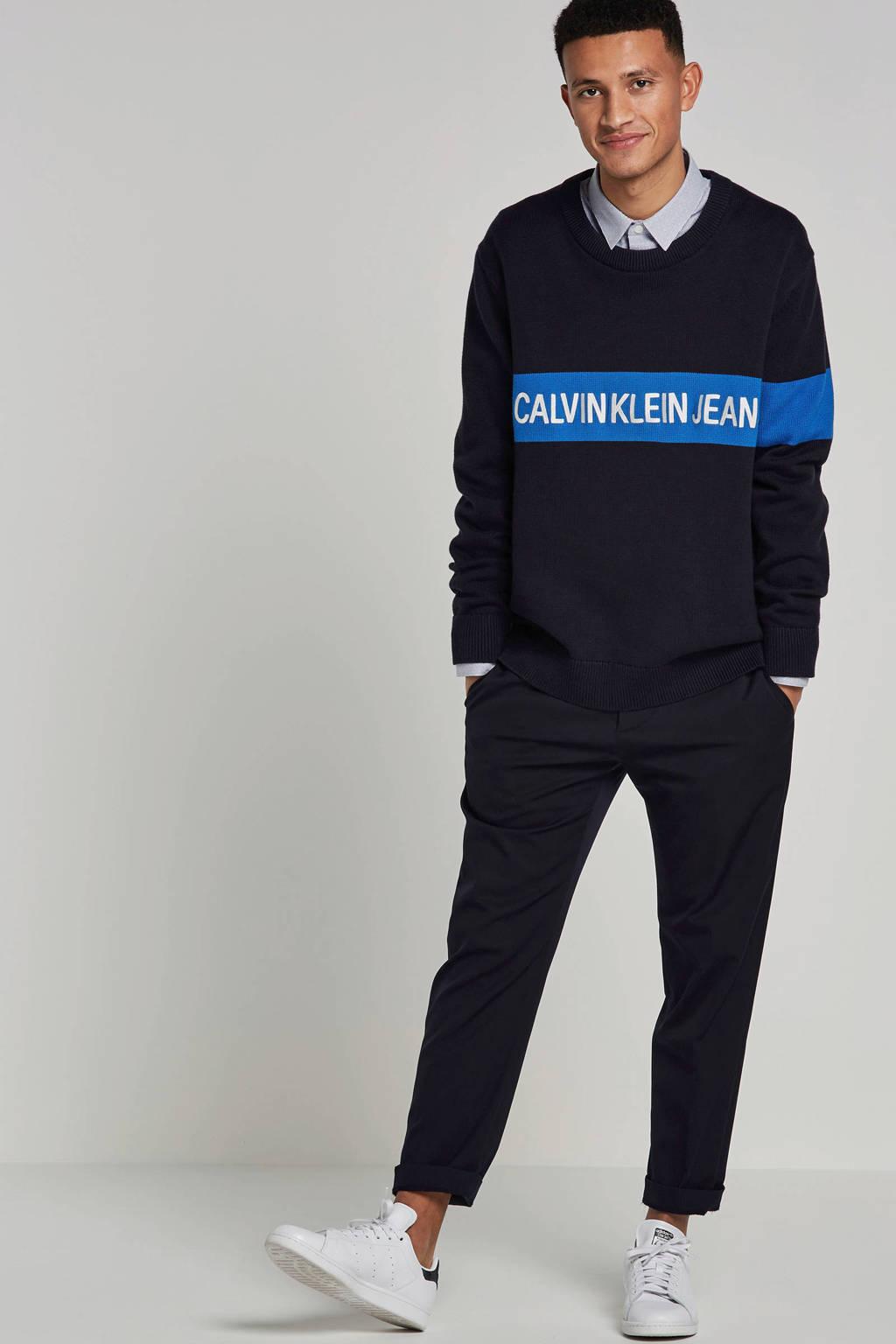 Calvin Klein Jeans trui, Donkerblauw