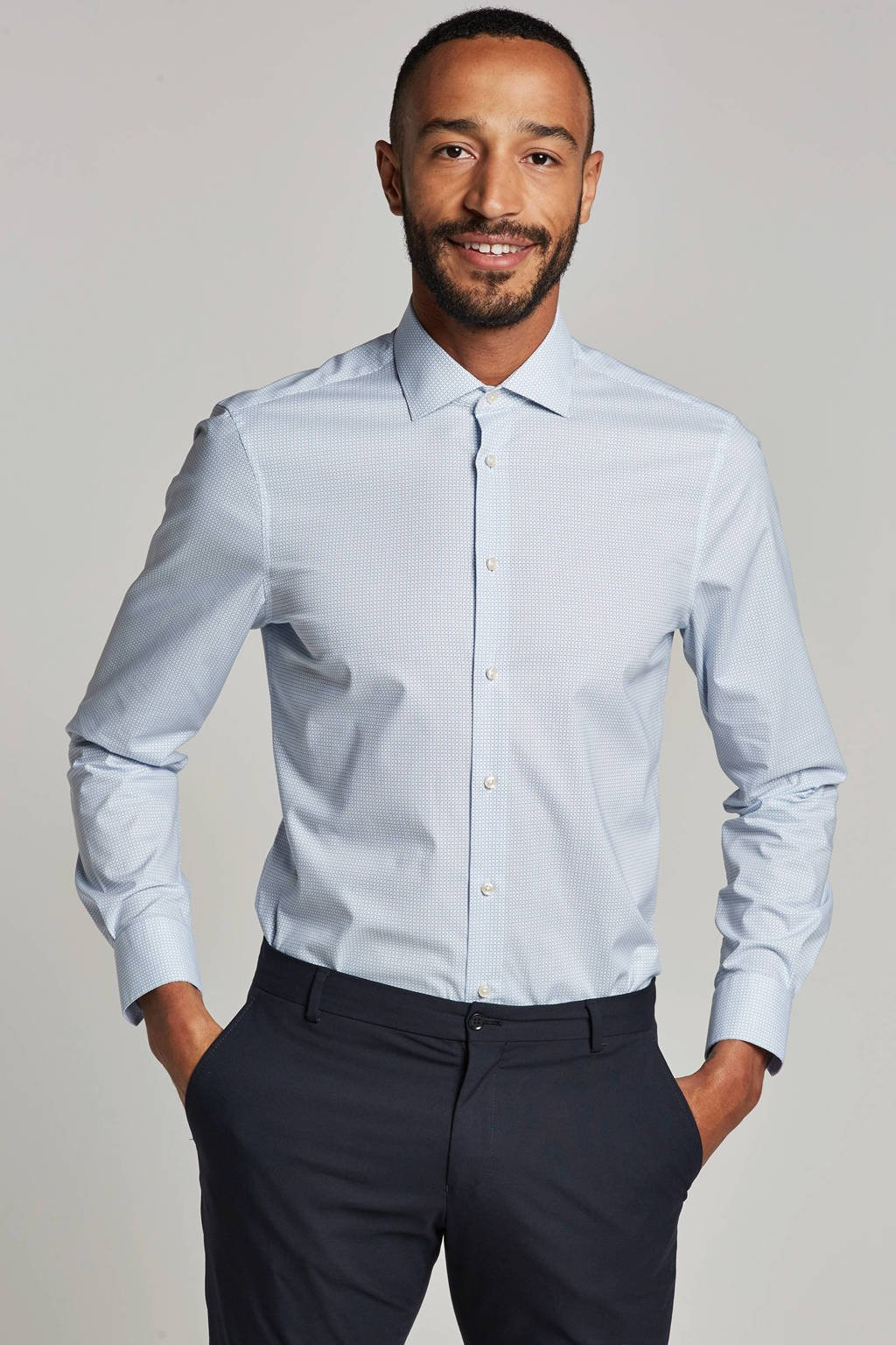 Tommy Hilfiger Tailored overhemd, Wit