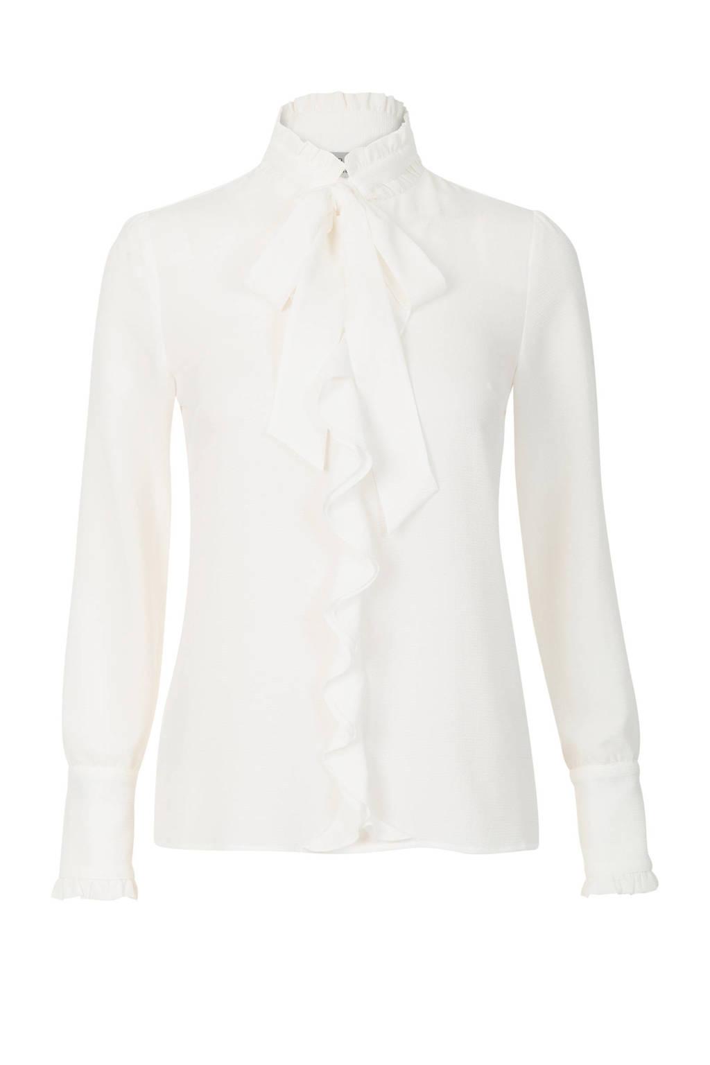 Promiss blouse strik wit, Wit