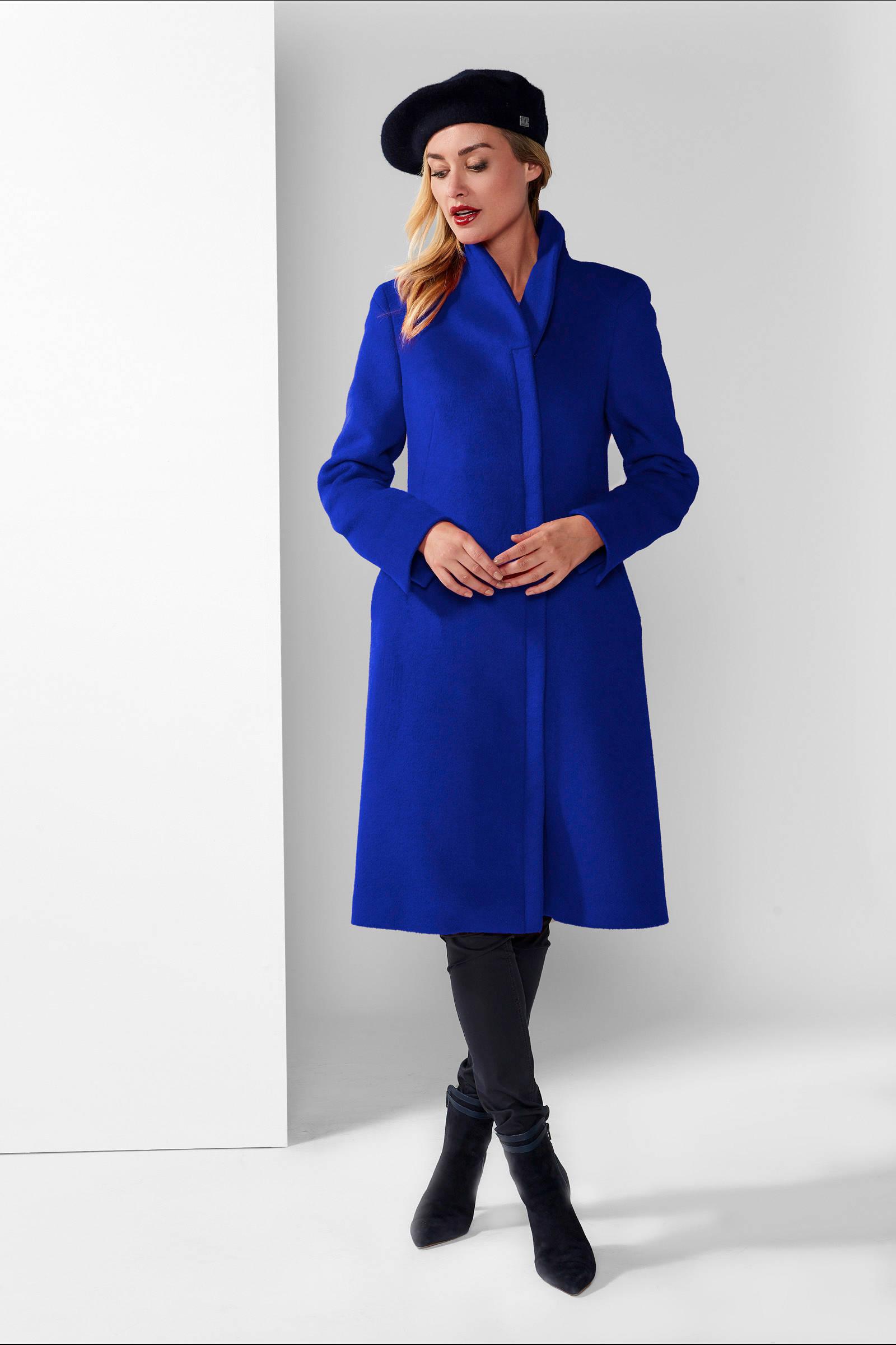 Mart Visser A lijn coat Roxy blauw   wehkamp