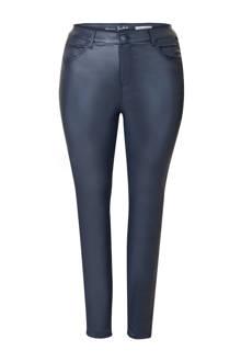 Plus gecoate 5-pocket broek blauw