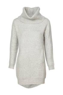 Mart Visser lange trui met wol grijs  (dames)